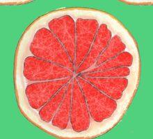 Zingy Grapefruit Sticker