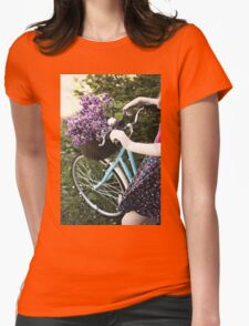 Collecting lilac Womens Fitted T-Shirt