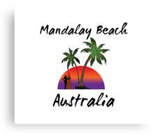 Mandalay Beach Australia Canvas Print