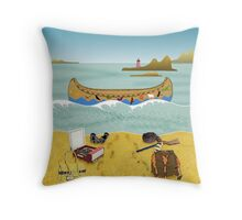 Pillow - Canoe to Moonrise Kingdom Throw Pillow