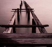 Cleveland Jetty by Keith G. Hawley