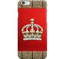 British Imperial Crown - Tudor Crown iPhone Case/Skin
