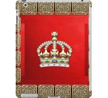 British Imperial Crown - Tudor Crown iPad Case/Skin