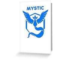 Mystic Pokemon GO Greeting Card