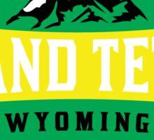 GRAND TETON NATIONAL PARK WYOMING MOUNTAINS 5 Sticker