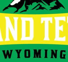 GRAND TETON NATIONAL PARK WYOMING MOUNTAINS 5 Sticker