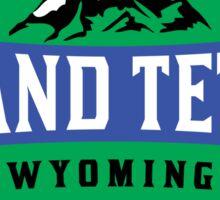 GRAND TETON NATIONAL PARK WYOMING MOUNTAINS 6 Sticker