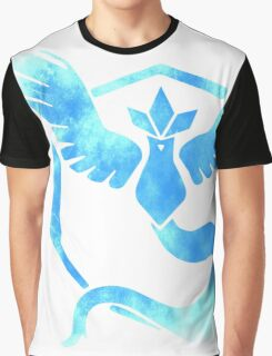 Team Mystic grunge blu Graphic T-Shirt