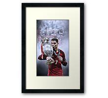 Portugal Euro 2016 Winners Framed Print