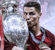 Portugal Euro 2016 Winners Sticker