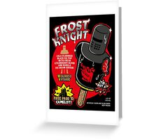 Frost Knight Ice Pop Greeting Card