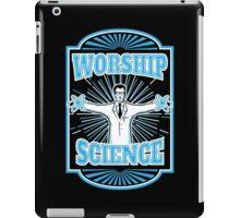 Science Worship Geeky Atheism iPad Case/Skin