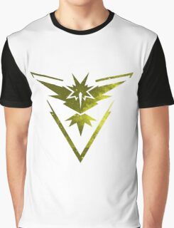 Team Instinct Pokemon Go Graphic T-Shirt