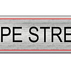 Hope Street Sign by Rob Johnston