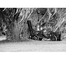 Abandone Equipment Photographic Print