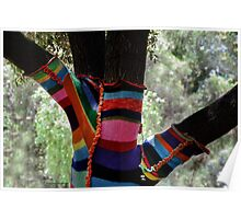 Stockings for the Well Dressed Tree!  Poster