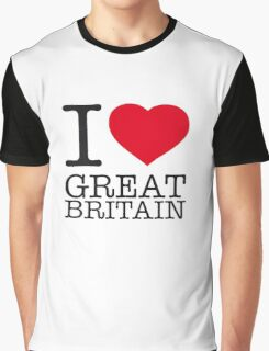I ♥ GREAT BRITAIN Graphic T-Shirt