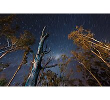 Camping under the stars Photographic Print