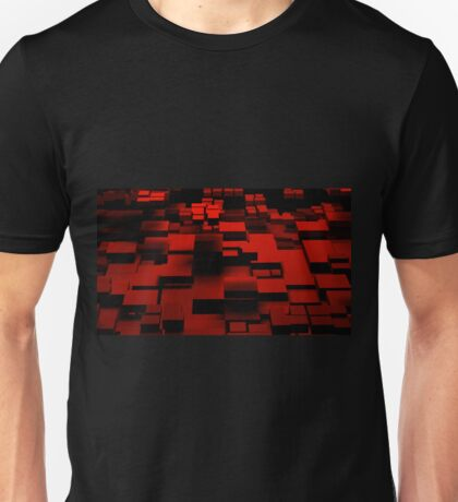 Cube Red Unisex T-Shirt
