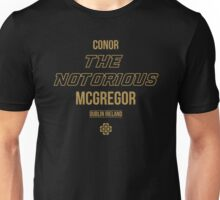 The Notorious | Gold Unisex T-Shirt