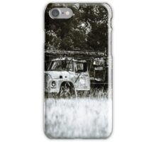 Abandoned old truck iPhone Case/Skin