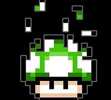 Pixel mushroom by Arry