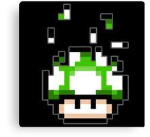 Pixel mushroom Canvas Print