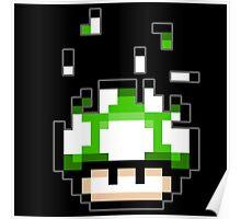 Pixel mushroom Poster
