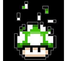 Pixel mushroom Photographic Print