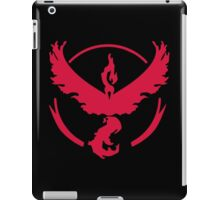 Pokemon GO: Team Valor (Red Clean) iPad Case/Skin