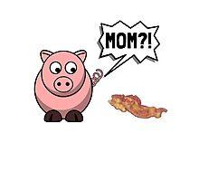 Pig Mom Photographic Print