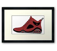 Jordan Air - Original design Framed Print