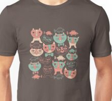 Funny Cats Unisex T-Shirt
