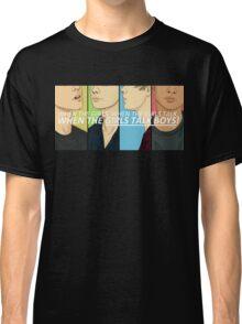 Girls Talk Boys Classic T-Shirt