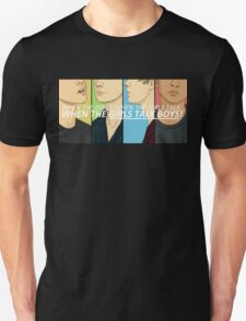 Girls Talk Boys Unisex T-Shirt