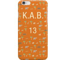 Pattern KAB 13 Darjeeling Limited & Hotel Chevalier iPhone Case/Skin