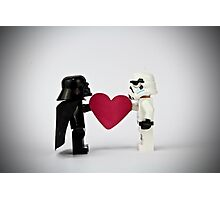 Lego LOVE Photographic Print