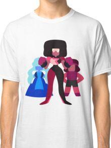 Minimalist Garnet Fusion Vector Classic T-Shirt