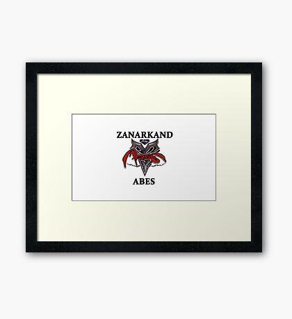 BlitzBall - Zanarkand Abes Framed Print