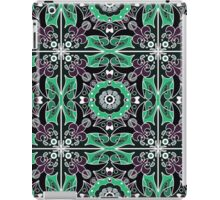 Seamless beautiful antique pattern ornament. Geometric background design, repeating texture. iPad Case/Skin