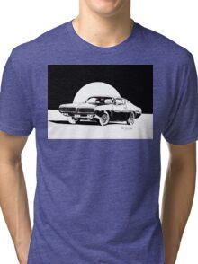 1972 Dodge Charger - Little Black Dress Tri-blend T-Shirt