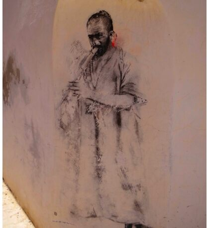 Djerba Street Art - Musician Sticker