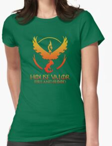 House Valor (GOT + Pokemon GO) Special vers. Womens Fitted T-Shirt