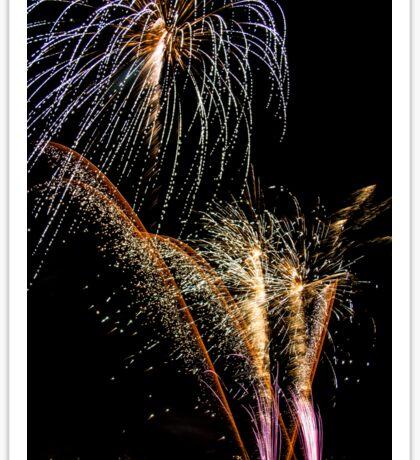 Firework Sticker