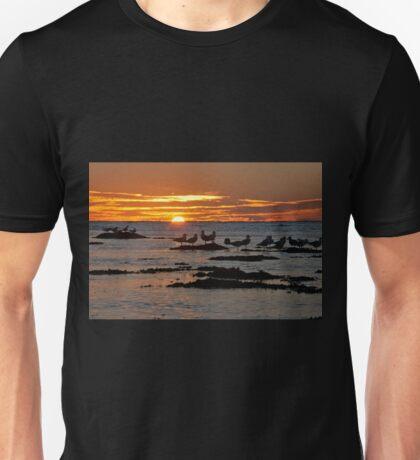 Sunset over Ningaloo Unisex T-Shirt
