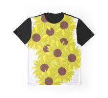 Sunflower Power Graphic T-Shirt