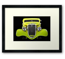 1934 Ford 'Chopped Top' Coupe II Framed Print