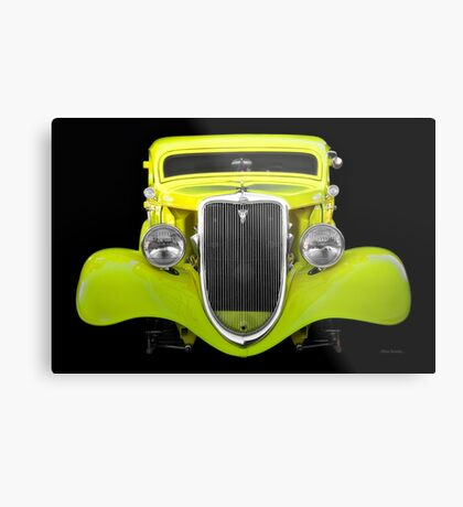 1934 Ford 'Chopped Top' Coupe II Metal Print