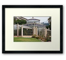 Glass house Framed Print