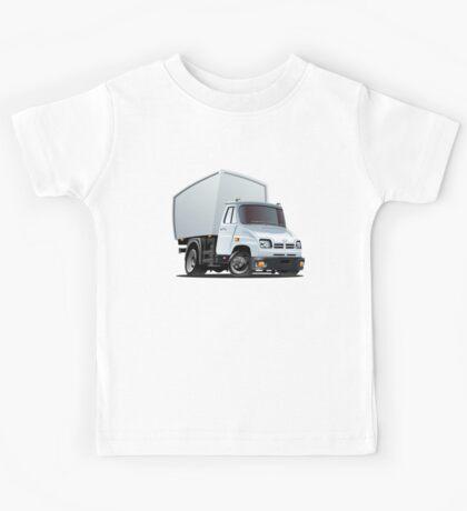 Cartoon delivery or cargo truck Kids Tee
